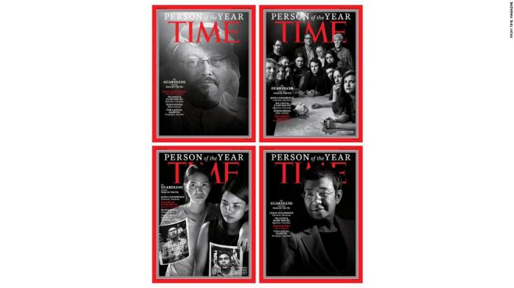 TIME magazine names 2018 'Person of the Year'