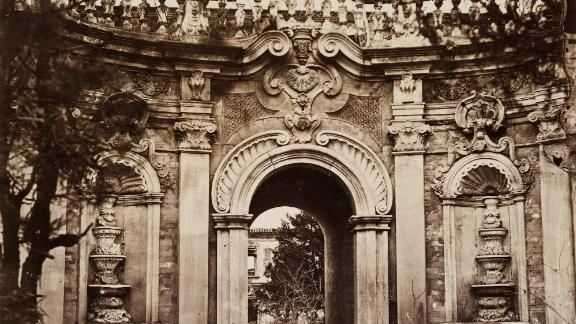 Thomas Child's pictures show architectural details of Beijing's Old Summer Palace, which was largely destroyed by Anglo-French forces in 1860.