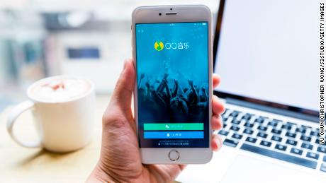 Tencent Music shares rise after stock market debut