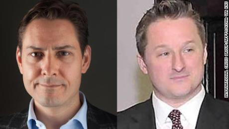 The two Canadians detained in China: Michael Kovrig and Michael Spavor.
