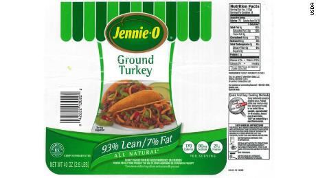 More than 164,000 pounds of ground turkey recalled; 52 more people sick in deadly salmonella outbreak