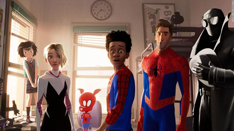 "<strong>Best animated feature film:</strong> ""Spider-Man: Into the Spider-Verse"""
