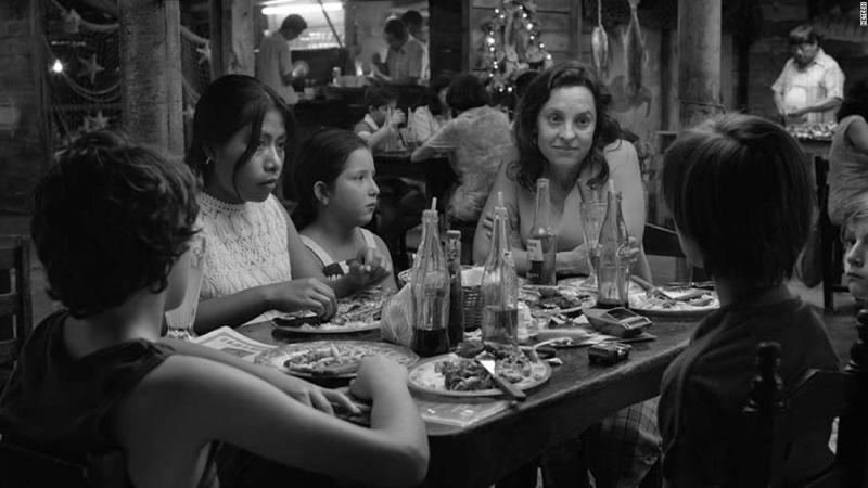 """<strong>Best cinematography:</strong> """"Roma"""""""
