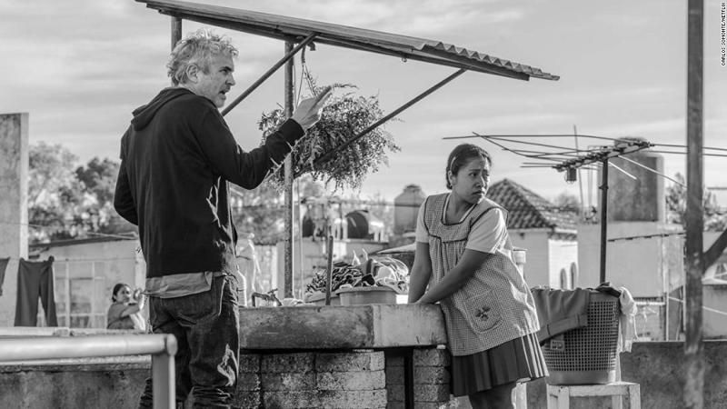 "<strong>Best director:</strong> Alfonso Cuaron, ""Roma"""