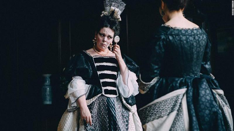 "<strong>Best actress:</strong> Olivia Colman, ""The Favourite"""