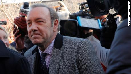 The man who accuses Kevin Spacey of groping him dropped his civil lawsuit against the actor