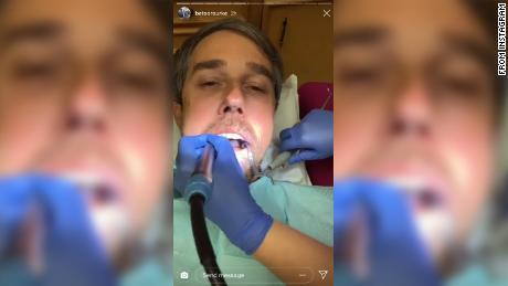 Visita al dentista de Beto O & # 39; Rourke Instagram, habla sobre la vida en la frontera entre EE. UU. Y México