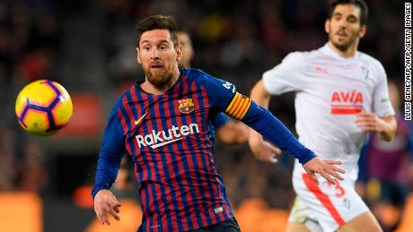 Messi's 400 leagues goals have included 31 hat-tricks.