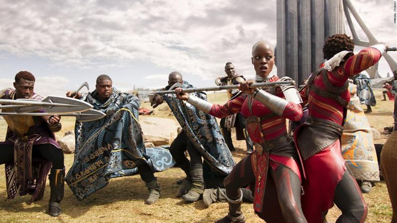 "<strong>Best production design:</strong> ""Black Panther"""