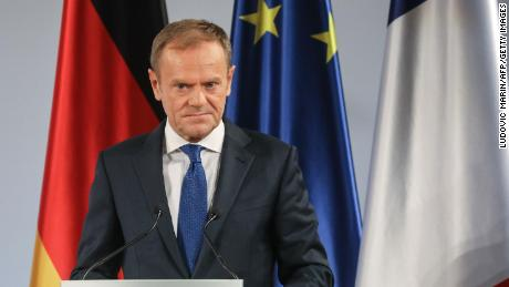 Tusk: 'Special place in Hell' for Brexit promoters 'without a plan'