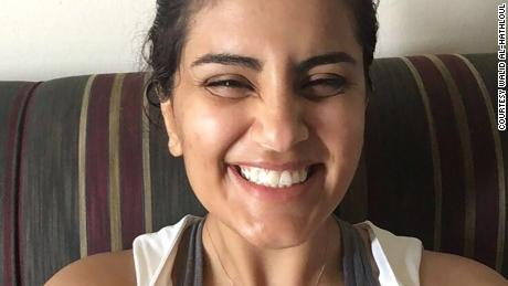 Saudi activist Loujain al-Hathloul has been in Saudi prison since May 2018, charged with women's rights activism and contacting journalists.