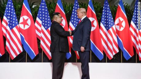 Aides caution Trump as he looks to Kim summit for boost