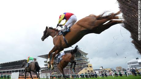 Horse racing has resumed after virus outbreak.