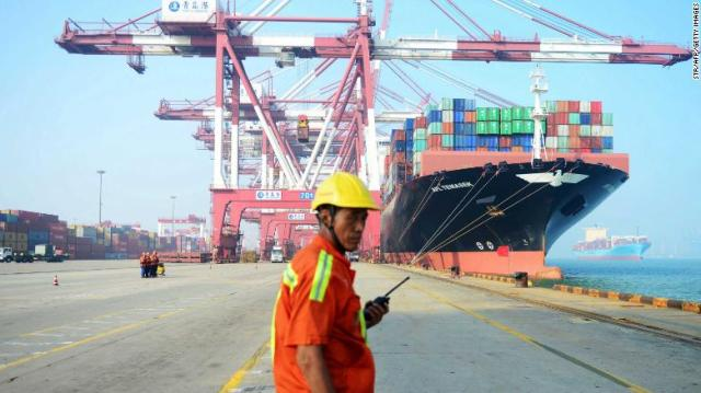 Some Chinese businesses are blaming the trade war with the United States for worsening conditions.
