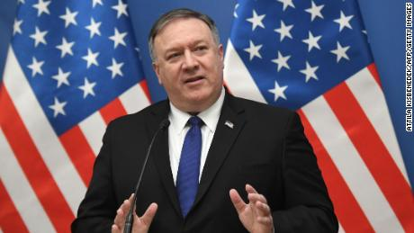 Pompeo says US doesn't want war with Iran but warns of 'swift' response if provoked