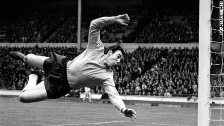Gordon Banks made 73 appearances for England.