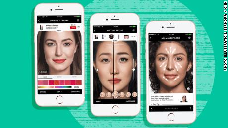 Virtual makeovers are better than ever. Beauty companies are trying to cash out