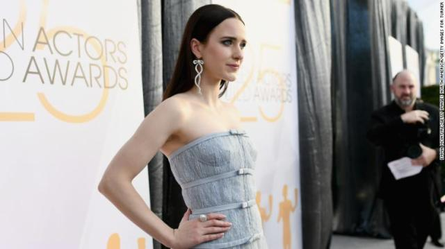 Rachel Brosnahan attends the 25th Annual Screen ActorsGuild Awards on January 27, 2019, in Los Angeles.