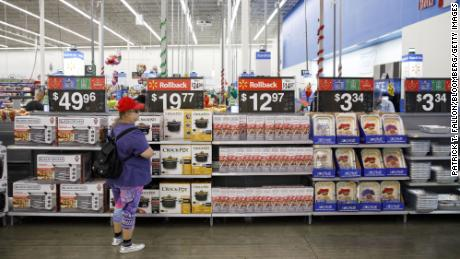 """""""Increased tariffs will lead to increased prices, we believe, for our customers,"""" Walmart said on Thursday."""