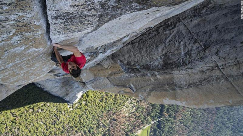"""<strong>Best documentary — feature:</strong> """"Free Solo"""""""