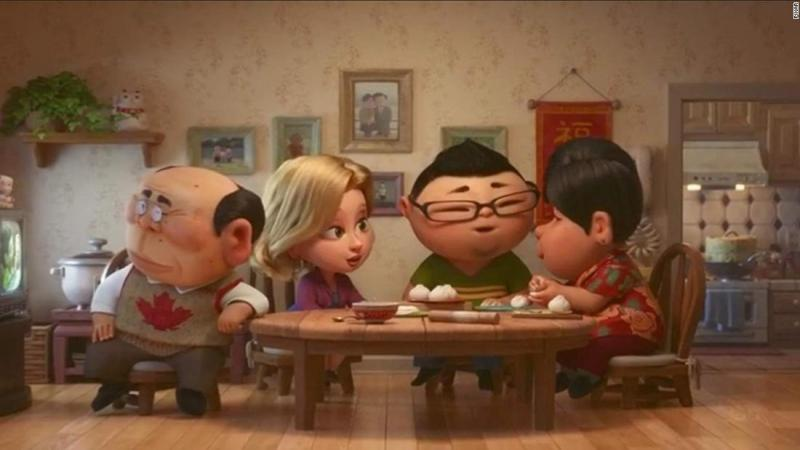 "<strong>Best animated short film:</strong> ""Bao"""