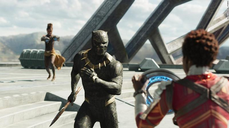 """<strong>Best original score:</strong> """"Black Panther"""""""