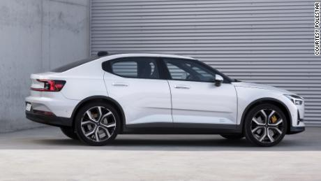 The Polestar brand will sell only plug-in cars.