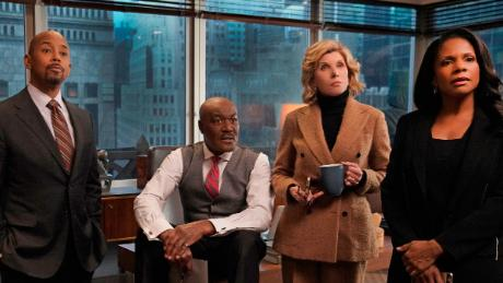 Michael Boatman, Delroy Lindo, Christine Baranski, Audra McDonald in 'The Good Fight'