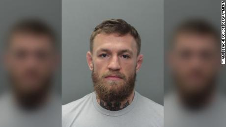Ultimate Fighting Championship star Conor McGregor was arrested Monday after he allegedly smashed a fan's phone in Miami Beach, Florida, according to a police report issued by Miami Beach police spokesman Ernesto Rodriguez.