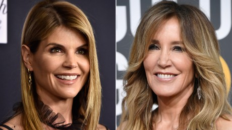 Lori Loughlin and Felicity Huffman are two contrasting faces in the college admissions scam