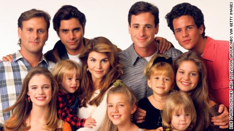 The cast of 'Full House' in 1993