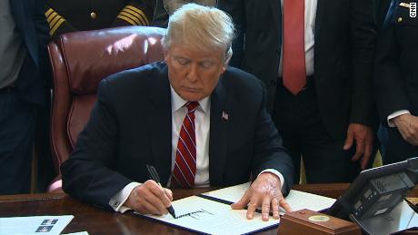 Trump signs veto