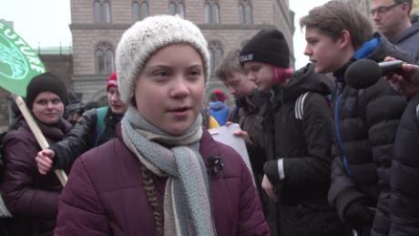 Greta Thunberg inspires global climate protests