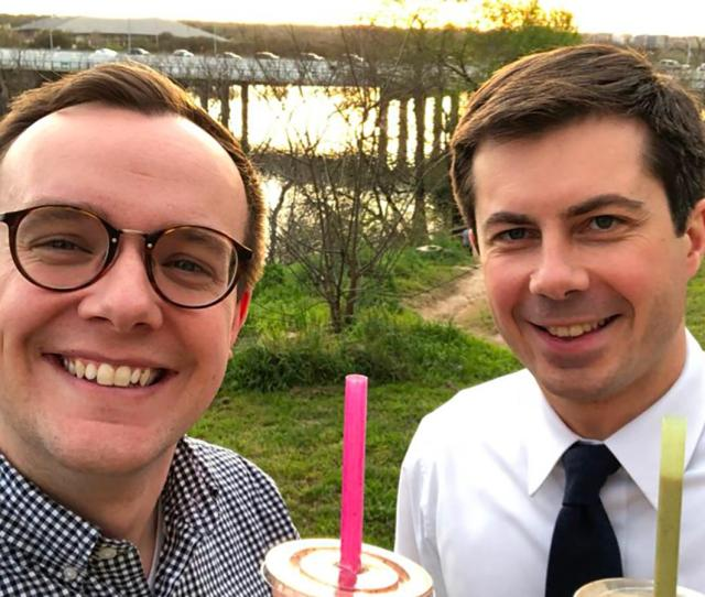 Chasten Buttigieg The Rising Star Of  Candidates Spouses