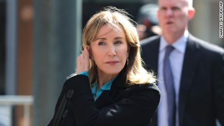Prosecutors want prison time for Felicity Huffman and other parents who pleaded guilty in college admissions scam