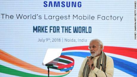 Modi has tried to turn India into a global manufacturing hub.