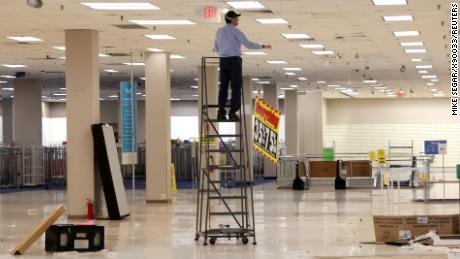 Hundreds of old Sears stores are empty. Amazon and Whole Foods might move in