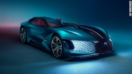 Techeetah partner DS road tests its futuristic supercar in China