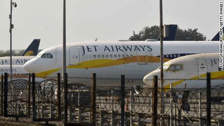 Debt-stricken Jet Airways cancels all international flights