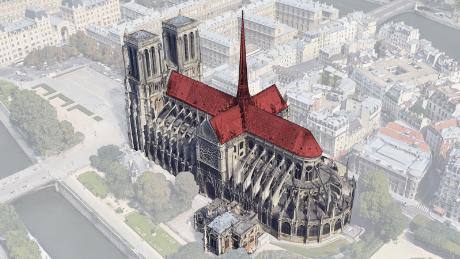 Notre Dame Aerial Animation Shows The Damage Caused By Fire