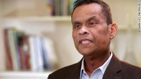 Former Nauru president Sprent Dabwido.