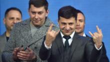 Volodymyr Zelensky played Ukraine's president on TV. Now it's a reality