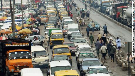 Employees in Lagos are stressed, burned out and exhausted because of 'hellish traffic'