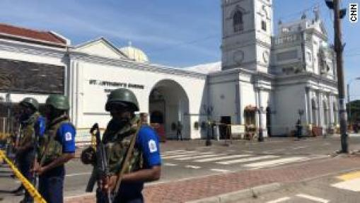 Sri Lanka suspects international terror link to Easter Sunday atrocities