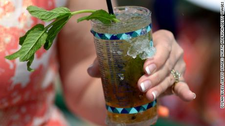 Mint Juleps have become an iconic feature of the Kentucky Derby.