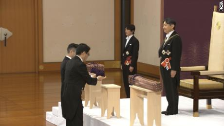 Japan's new Emperor Naruhito ascends throne as Reiwa era begins
