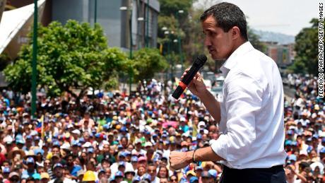 Trump admin seeking to get money to Venezuela's Guaido