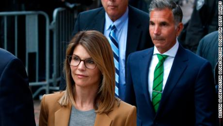Lori Loughlin will be tried with her husband and 6 other parents in October
