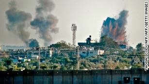 In response, the IDF says it has carried out airstrikes on more than 30 militant targets in Gaza.