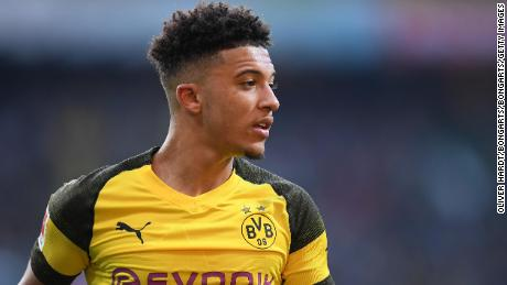 Jadon Sancho is a current star of German side Borussia Dortmund  (Picture: Getty Images)